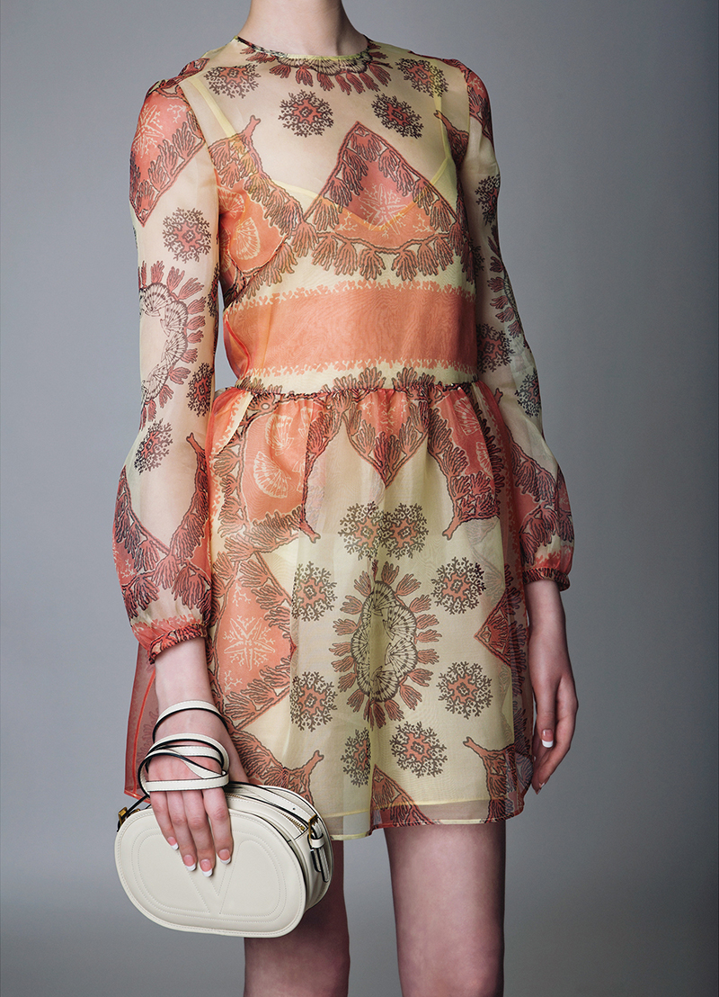 Nathalie Schuterman Valentino Silk Dress