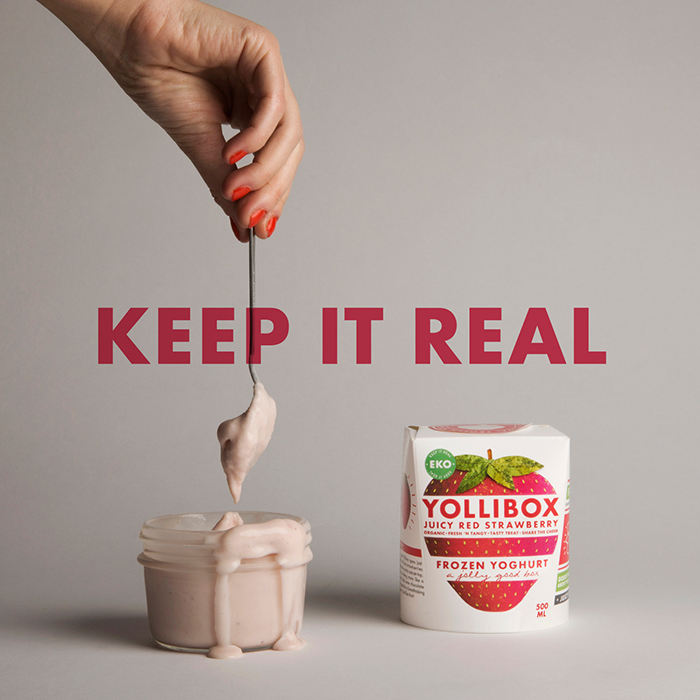 Yollibox Keep it Real Strawberry